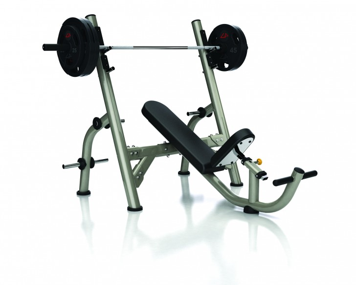 Picture of Aura Series Olympic Incline Bench G3FW14