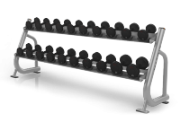 Magnum Series 2-tier Dumbbell Rack w/Saddles MG-A84