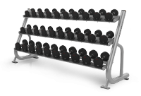 Magnum Series 3-tier Dumbbell Rack w/Saddles MG-A42