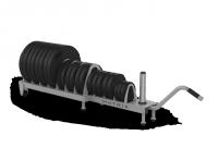 Magnum Series Horizontal Plate Rack MG-A301