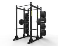 """Titan Power Rack w/ Storage 3"""" x 3"""""""