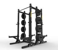 Titan Double Half Rack with Storage 3″x3″